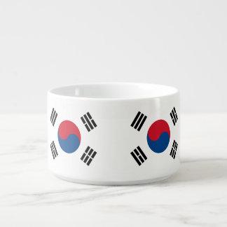 Flagge von Südkorea Kleine Suppentasse