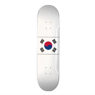 Flagge von Südkorea-Skateboard Personalisiertes Skateboarddeck