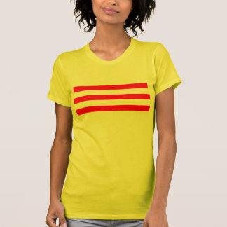 Flagge von Südvietnam T-Shirt
