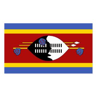 Flagge von Swasiland-Visitenkarten Visitenkarten