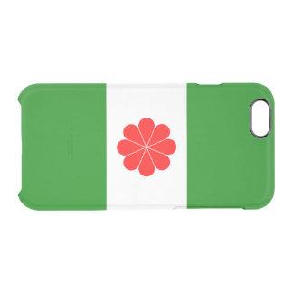 Flagge von Taiwan-Unabhängigkeits-freier Raum Durchsichtige iPhone 6/6S Hülle