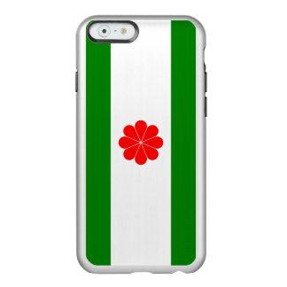Flagge von Taiwan-Unabhängigkeits-Silber iPhone Incipio Feather® Shine iPhone 6 Hülle