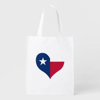 Flagge von Texan auf Metallhintergrund