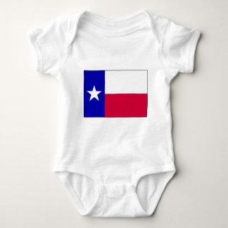 Flagge von Texas Baby Strampler