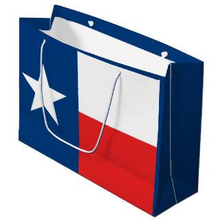 Flagge von Texas Große Geschenktüte