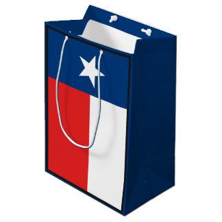 Flagge von Texas Mittlere Geschenktüte
