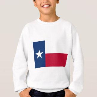 Flagge von Texas Sweatshirt