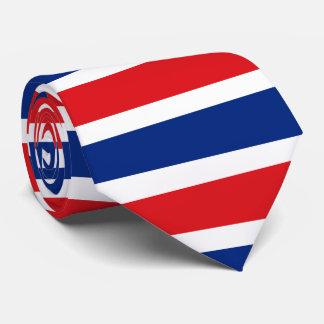 Flagge von Thailand Bedruckte Krawatten