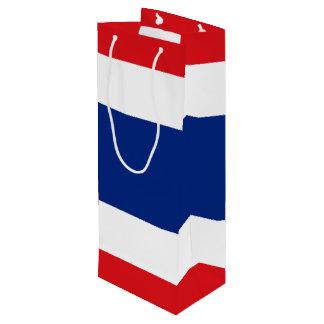 Flagge von Thailand Geschenktüte Für Weinflaschen