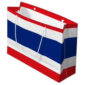 Flagge von Thailand Große Geschenktüte