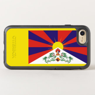 Flagge von Tibet OtterBox iPhone Fall OtterBox Symmetry iPhone 8/7 Hülle
