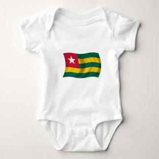 Flagge von Togo Baby Strampler