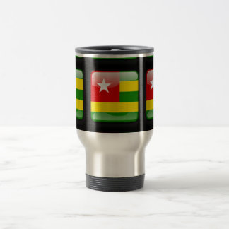 Flagge von Togo Reisebecher