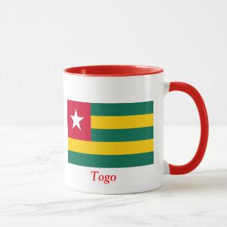 Flagge von Togo Tasse