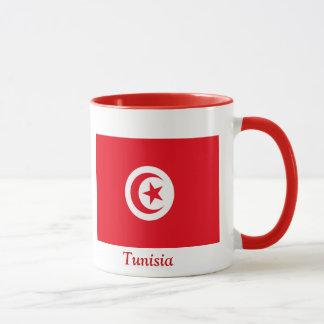 Flagge von Tunesien Tasse