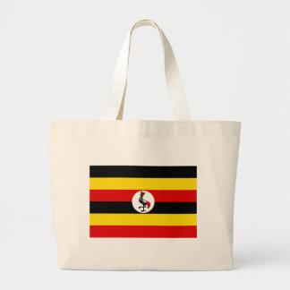 Flagge von Uganda Jumbo Stoffbeutel