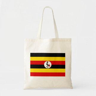 Flagge von Uganda Tragetasche