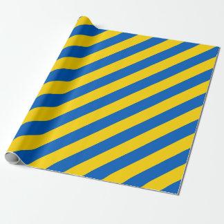 Flagge von Ukraine - ukrainische Flagge - Geschenkpapier