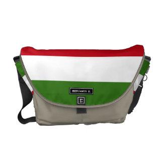 Flagge von Ungarn Kuriertasche