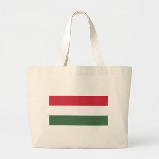 Flagge von Ungarn - Magyarország zászlaja Jumbo Stoffbeutel