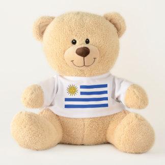 Flagge von Uraguay Teddy