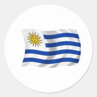 Flagge von Uruguay Aufkleber