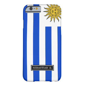 Flagge von Uruguay Barely There iPhone 6 Hülle
