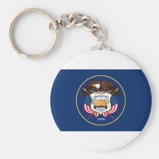 Flagge von Utah Schlüsselanhänger