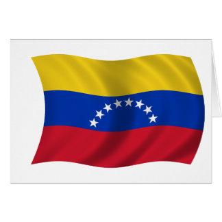Flagge von Venezuela Karte