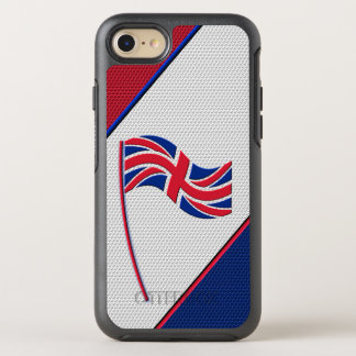 Flagge von Vereinigtem Königreich OtterBox Symmetry iPhone 8/7 Hülle