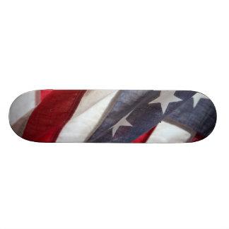 Flagge von Vereinigten Staaten 21,6 Cm Skateboard Deck