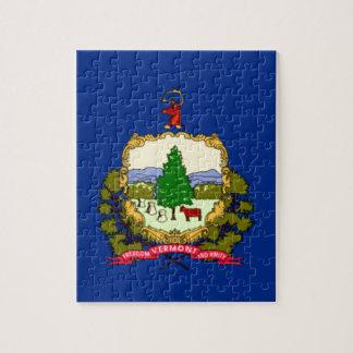 Flagge von Vermont Puzzle