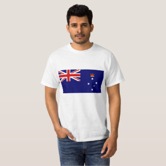 Flagge von Victoria Australien T-Shirt