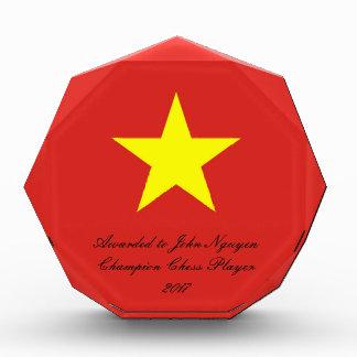 Flagge von Vietnam Auszeichnung