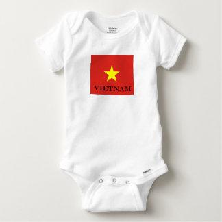 Flagge von Vietnam Baby Strampler