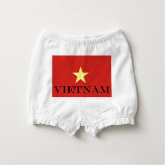 Flagge von Vietnam Baby-Windelhöschen