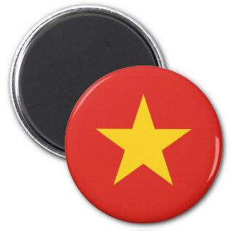 Flagge von Vietnam - Quốc kỳ Việt Nam Runder Magnet 5,7 Cm