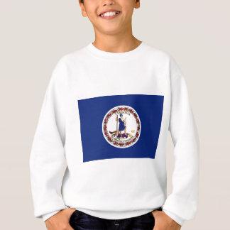 Flagge von Virginia Sweatshirt