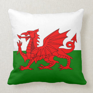 Flagge von Wales Kissen