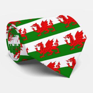 Flagge von Wales Krawatte