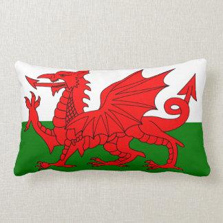 Flagge von Wales Lendenkissen