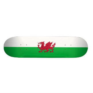 Flagge von Wales-Skateboard Individuelle Skatedecks