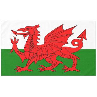 Flagge von Wales Tischdecke