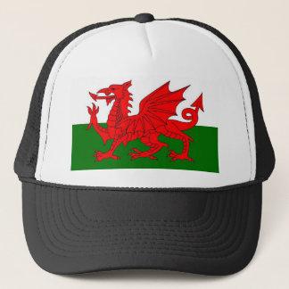 Flagge von Wales Truckerkappe