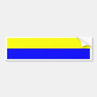 Flagge von Zandvoort Autoaufkleber