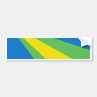 Flagge von Zeewolde Autoaufkleber