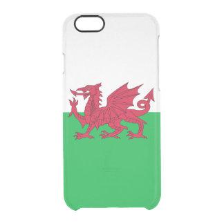 Flagge Wales klaren iPhone Falles Durchsichtige iPhone 6/6S Hülle