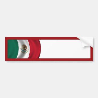Flagge-Wellenartig bewegen Autoaufkleber