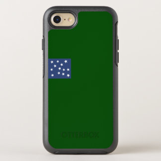 Flagge zweiten Vermont OtterBox iPhone Falles OtterBox Symmetry iPhone 8/7 Hülle