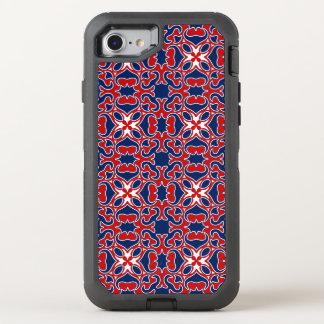 Flaggefarbmuster OtterBox Defender iPhone 8/7 Hülle